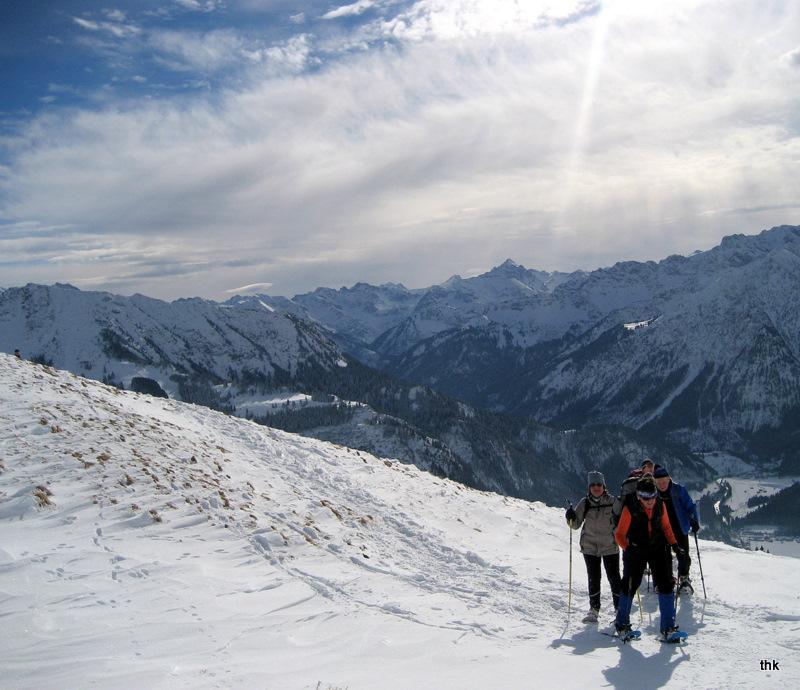 Schneeschuhwandern in den Bayrischen Alpen -1-