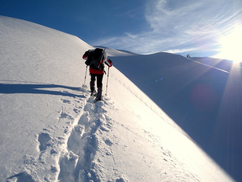 Schneeschuhwandern zur Bremer Hütter