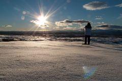 Schneeschuhwanderung im Golsfjell