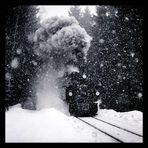 Schneesturm am Brocken