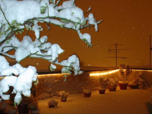 Schneesturm in Dortmund