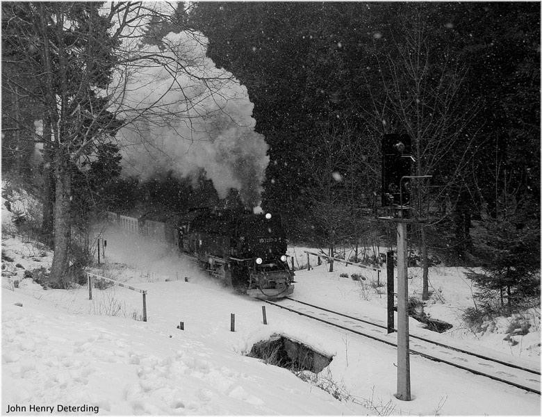 Schneetreiben in Drei Annen Hohne