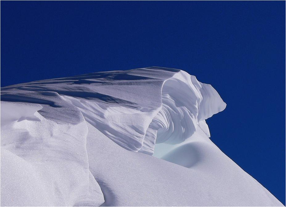 Schneeverwehung......