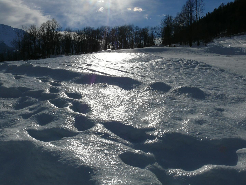 schneewellige Talebene