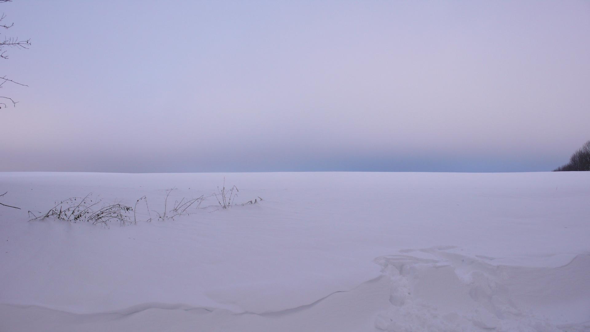 Schneewüste..