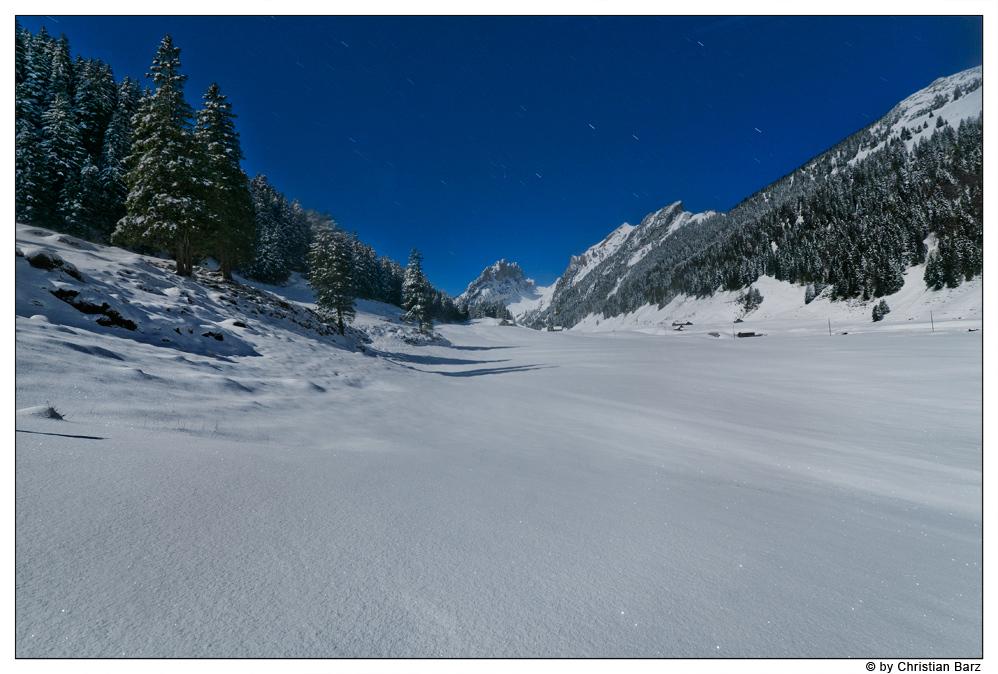 Schneezauber in den Bergen
