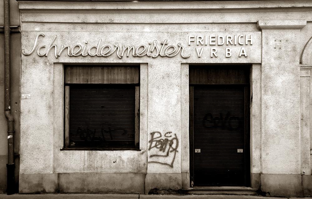 Schneidermeister Friedrich Vrba
