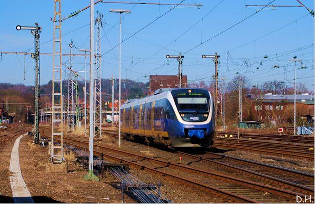 Schnell von Bielefeld nach Detmold...