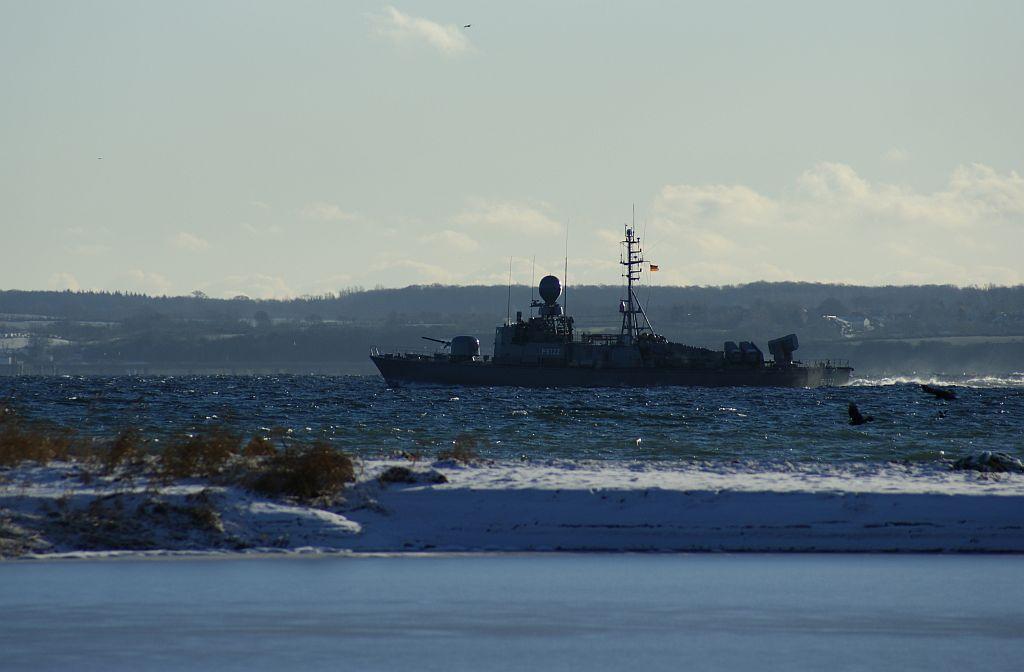 """Schnellboot """"PUMA"""" in der Eckernförder Bucht"""