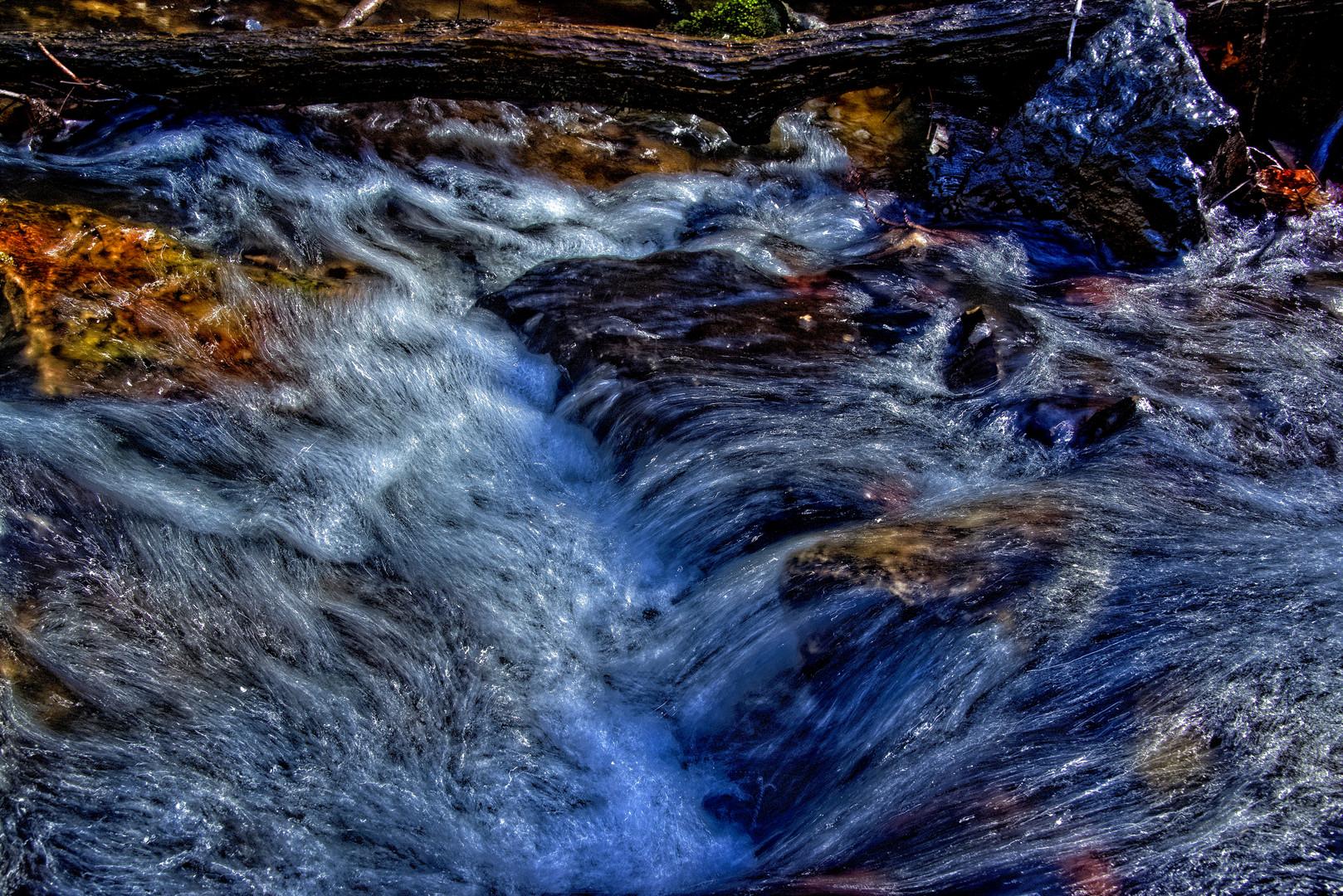 schnelles Wasser