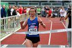 Schnellste Frau des 9. Kölner Halbmarathons...