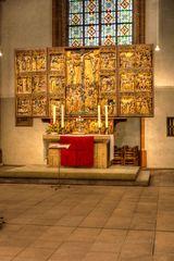 Schnitzaltar der Stiftskirche