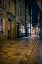Schnoor bei Nacht