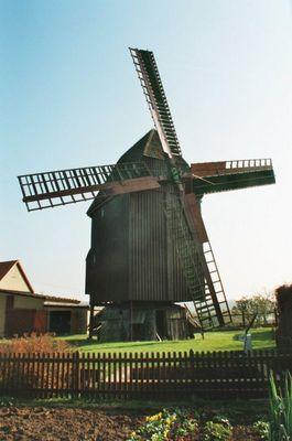 Schön, dass sie sich wieder dreht! Bockwindmühle bei Naumburg