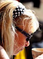 Schön, entspannt und Kaffee