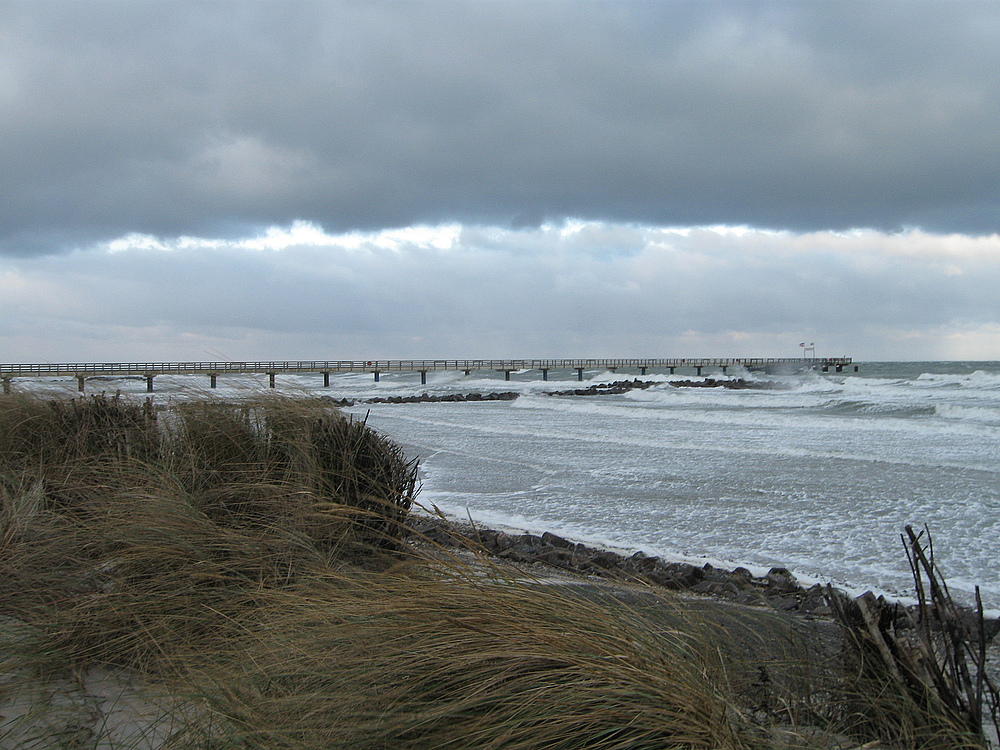 Schönberger Strand im Dezember
