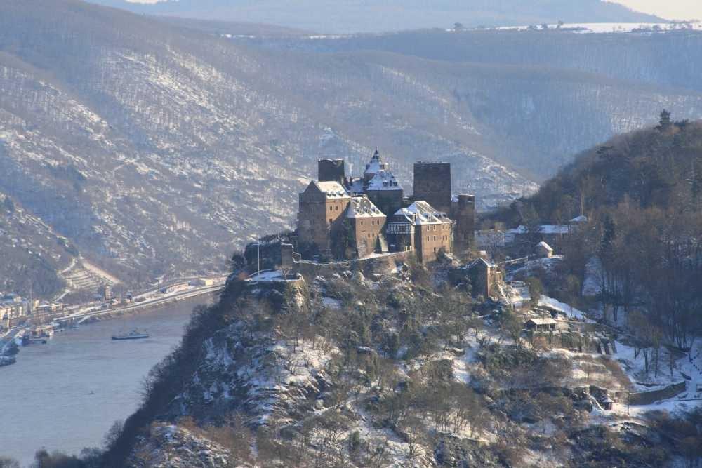 Schönburg über Oberwesel am Rhein
