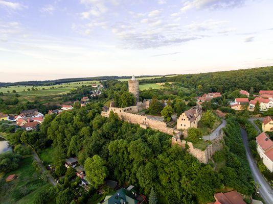 Schönburg von oben