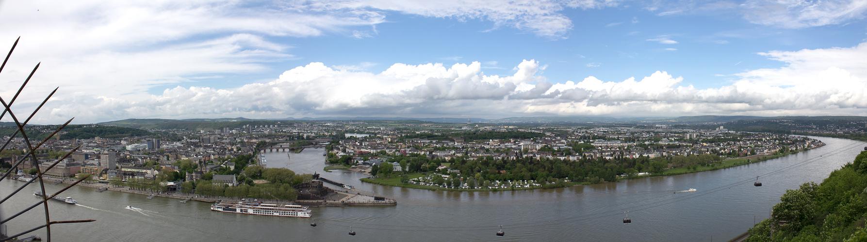 Schöne Aussicht Koblenz