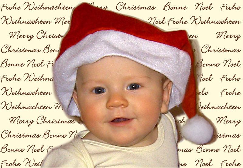 Schöne Bescherung vorab, von Jakob, 6 Monate ;-)