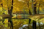 Schöne Brücke im Branitzer Park