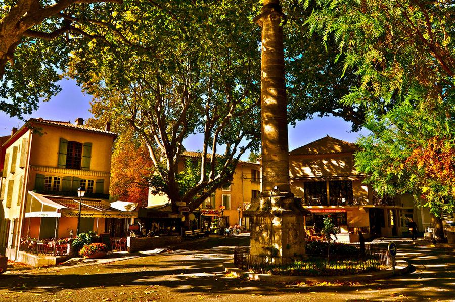 schöne bunte Provence