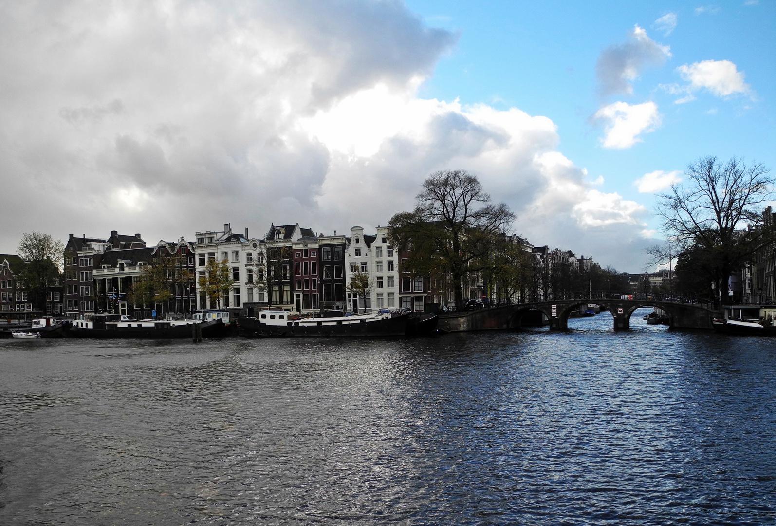 schöne Grachten in Amsterdam