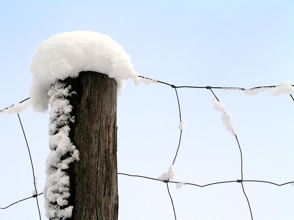 schöne Grüße vom Winter