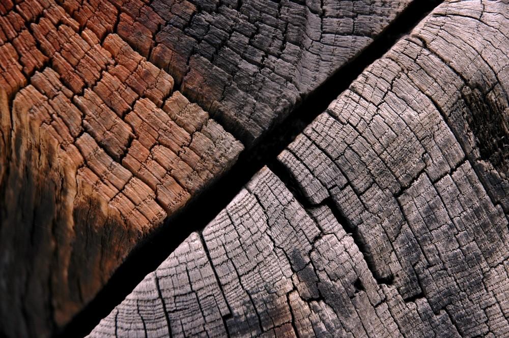 Schöne Holzmaserung