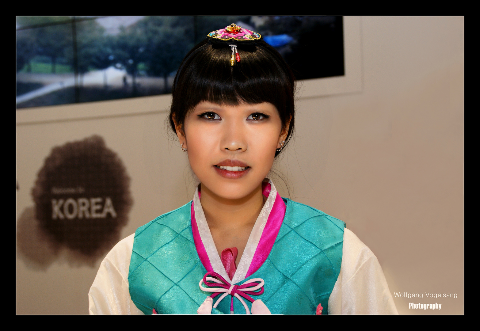 ...schöne Koreanerin...