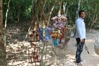 Schöne Puppen in Kambotscha