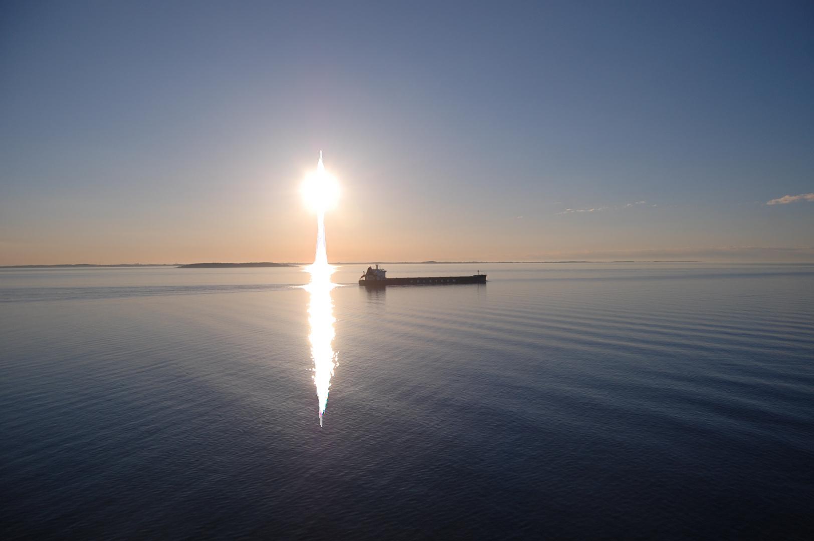 Schöne Seefahrt