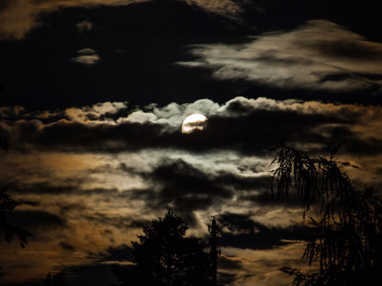 Schöne Stimmung mit Mond :-)