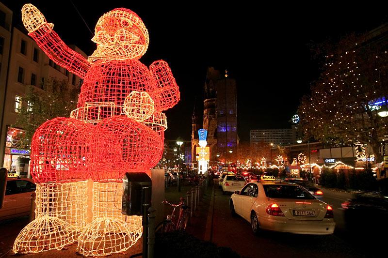Schöne Weihnachten aus der Hauptstadt