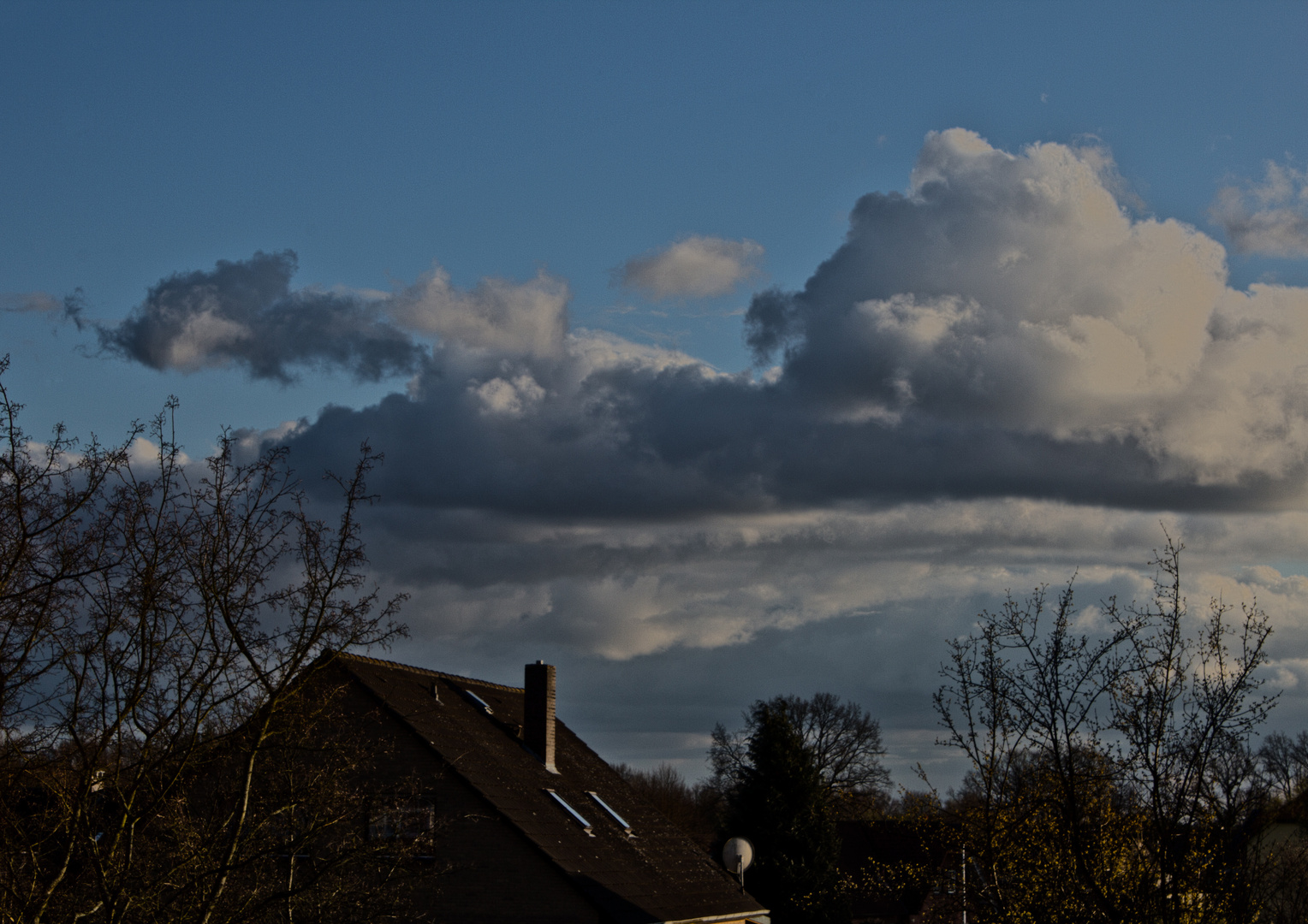 Schöne Wolken