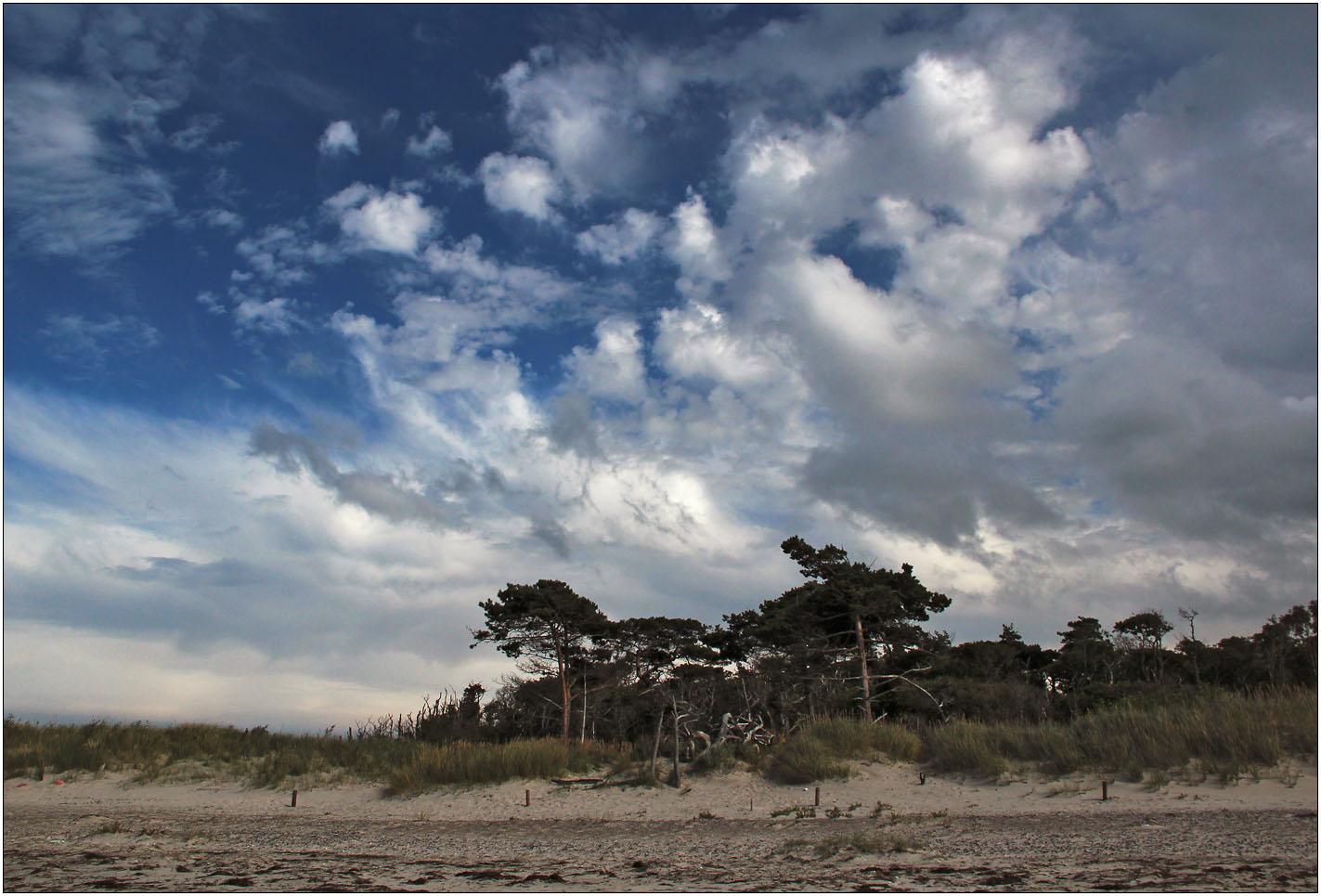 Schöne Wolken am Himmel ...