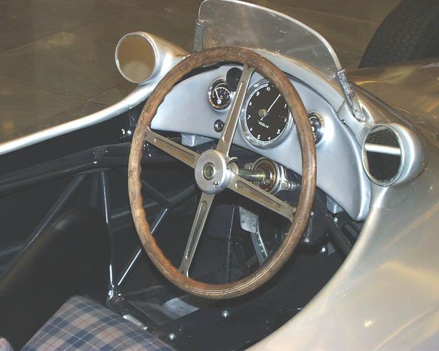 Schöner alter Rennwagen - nicht zu verkaufen....