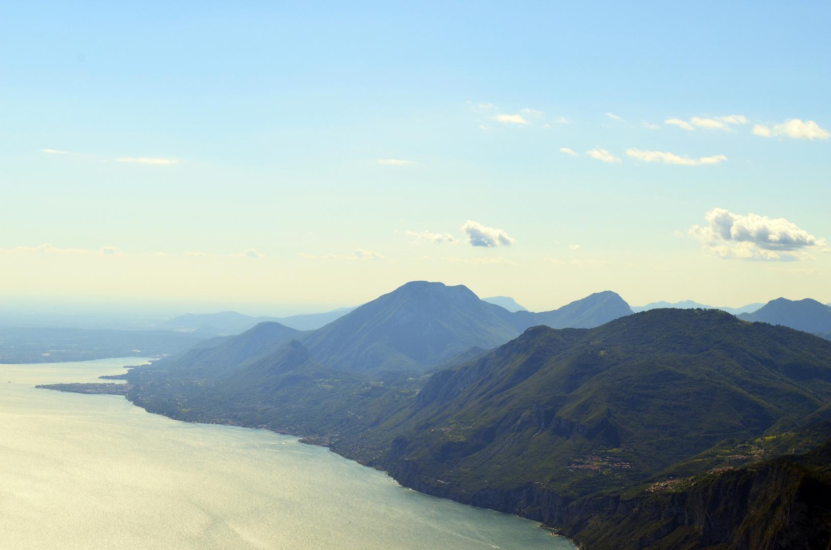 Schöner Ausblick vom Monte Baldo