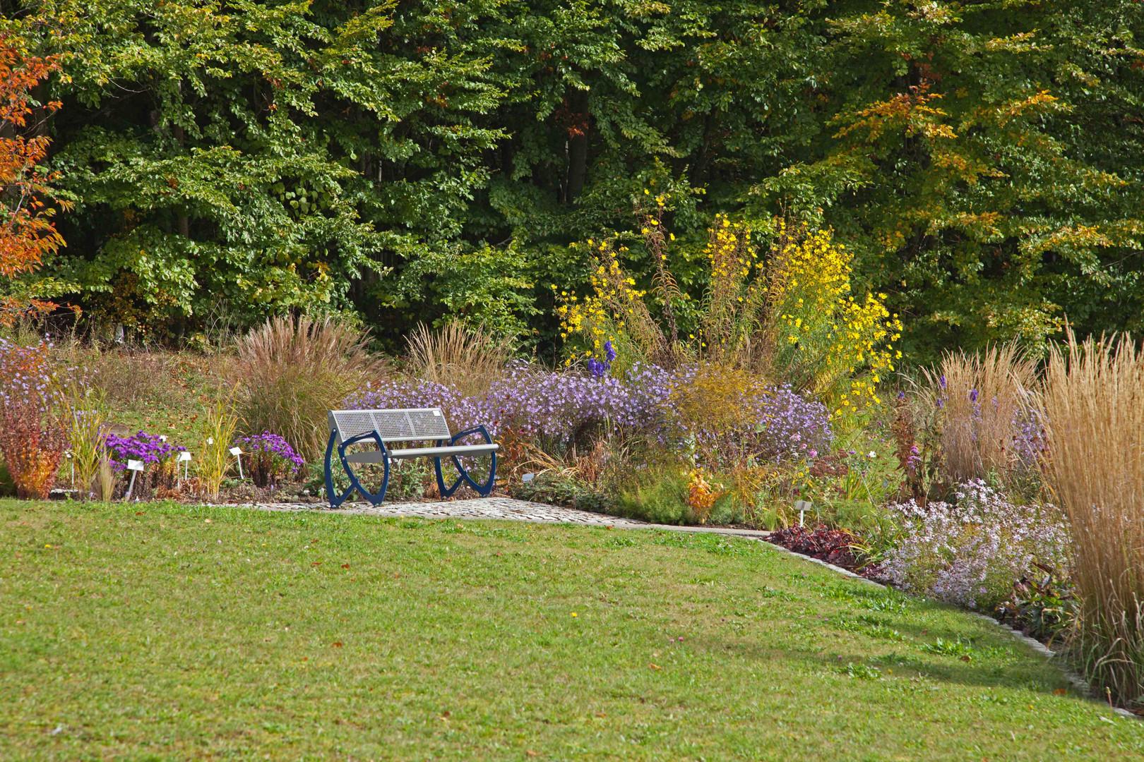 schöner Platz - Botanischer Garten Ulm