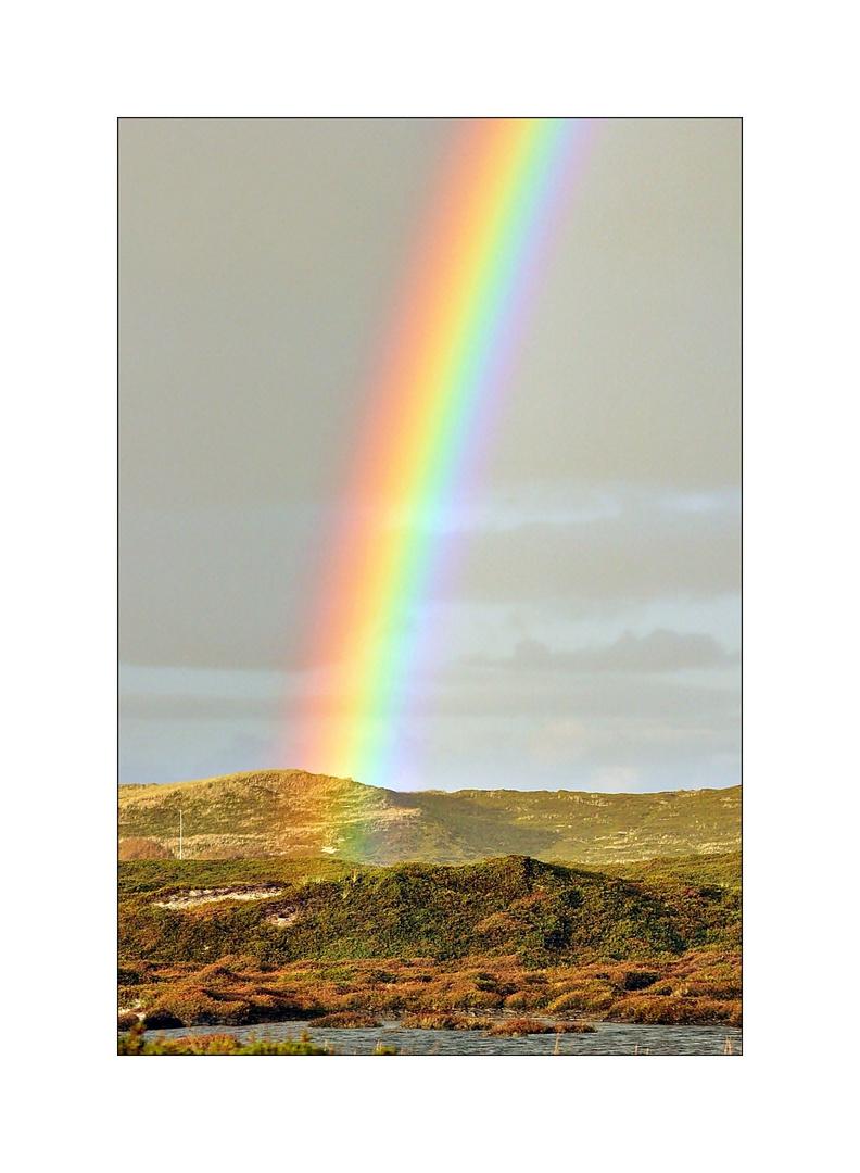 schöner Regenbogen über Sylt