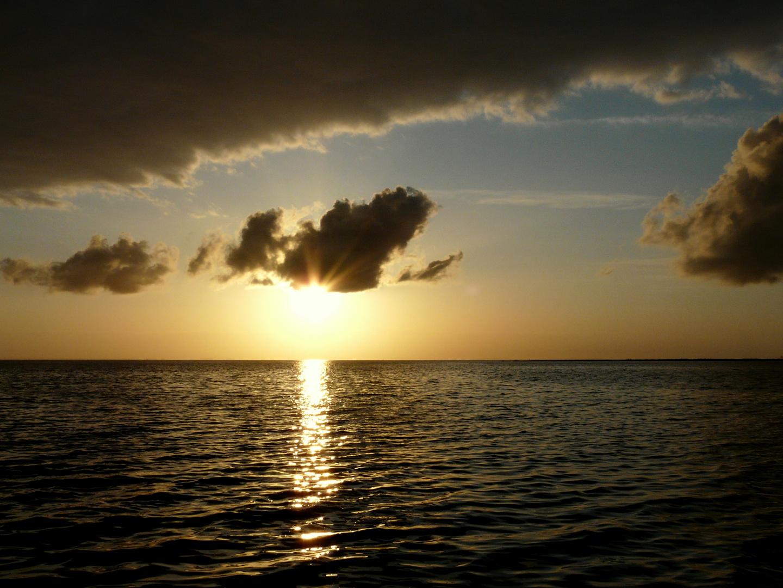 Schöner Sonnenuntergang :-)