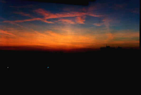 Schöner Sonneuntergang...