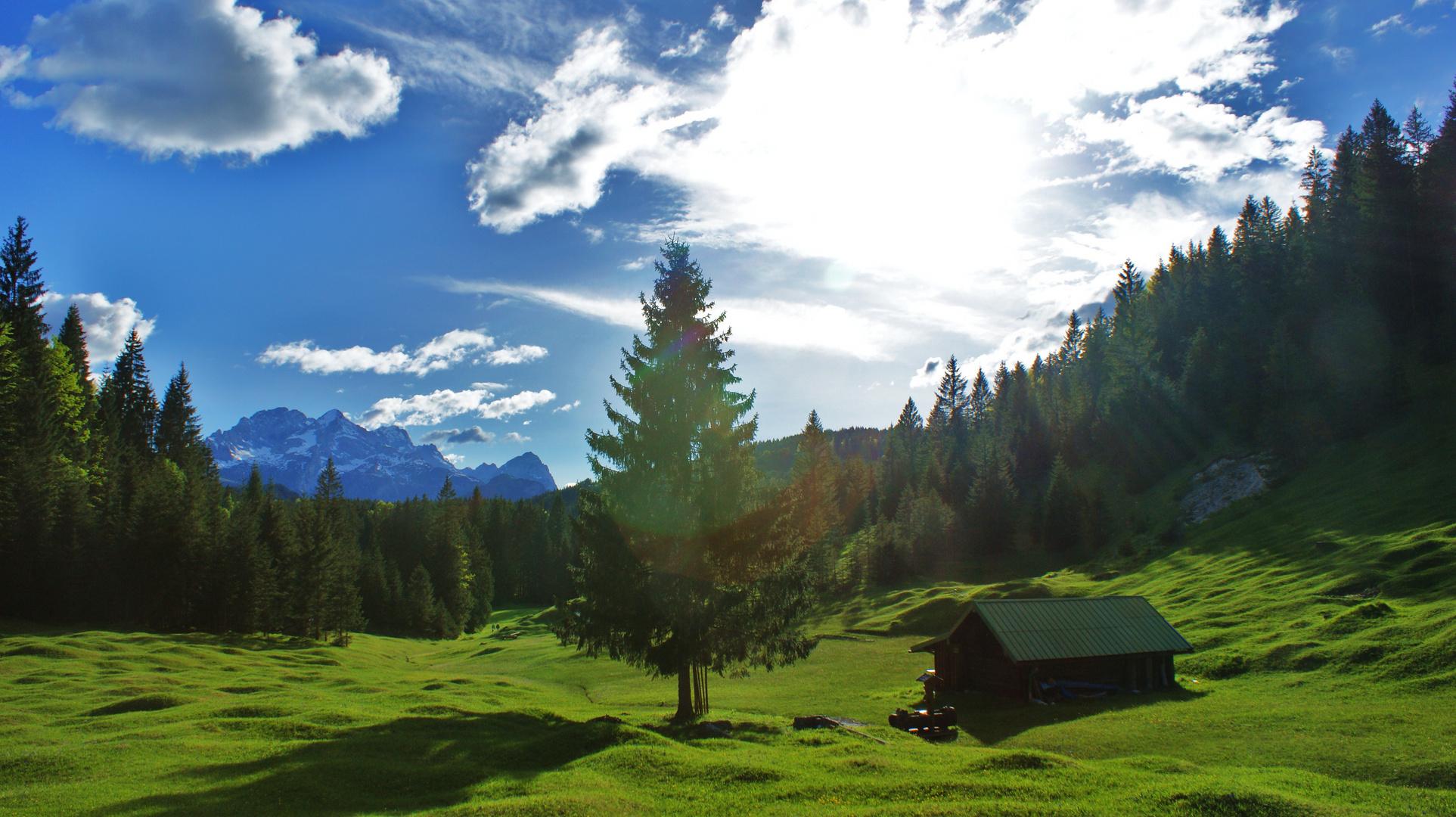 schönes Alpenland