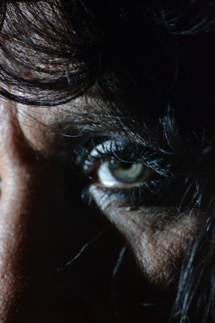schönes Augedetail