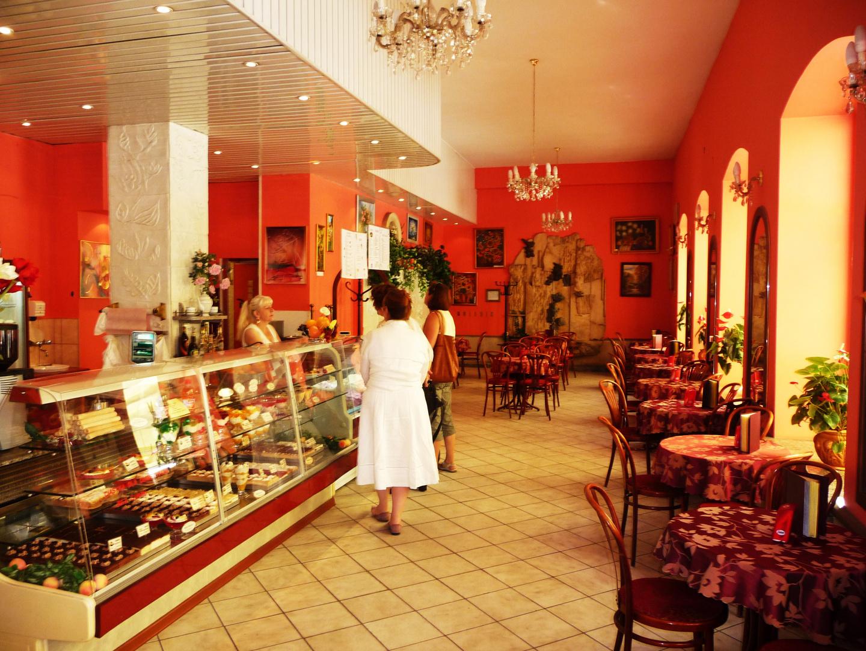 Schönes Cafe in Breslau