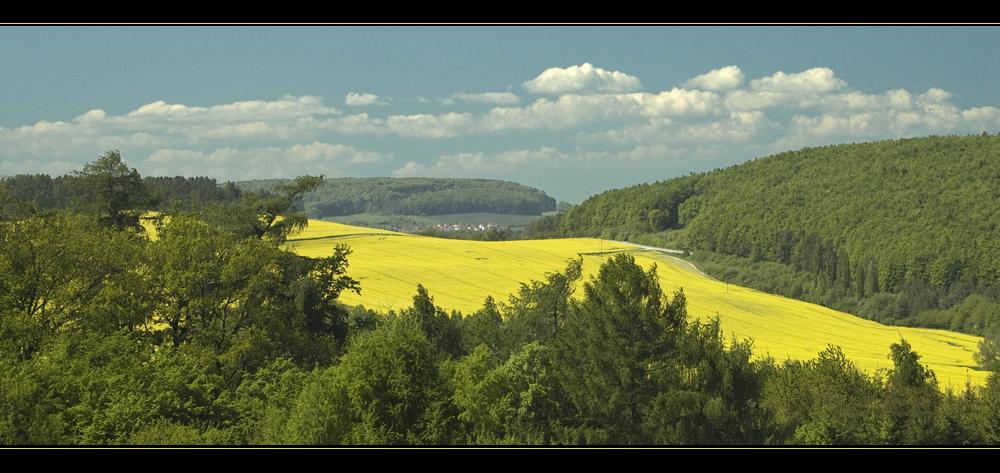 Schönes Eichsfeld - Blick nach Rohrberg