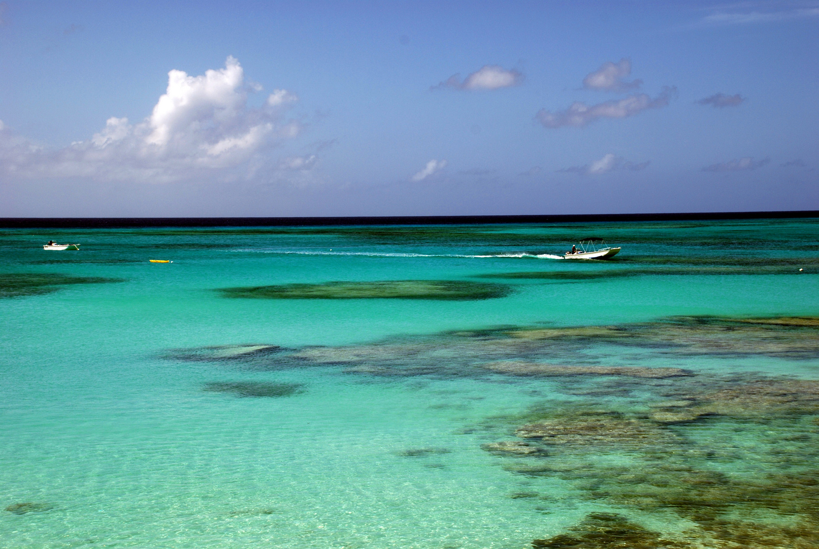 sch nes meer in der karibik foto bild himmel universum blaue stunde natur bilder auf. Black Bedroom Furniture Sets. Home Design Ideas