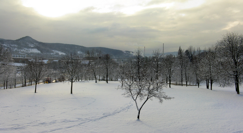 Schönes Winterwochenende