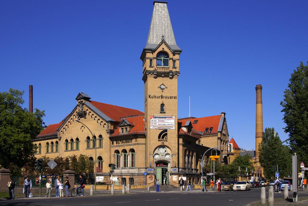 Schönhauser Allee - Kulturbrauerei