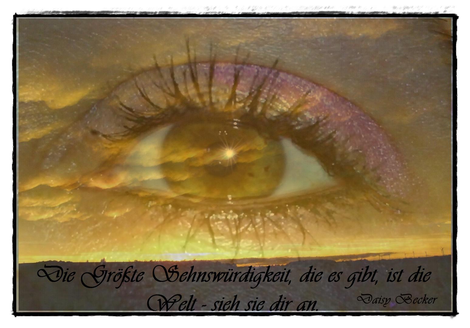 Schönheit liegt im Auge des Betrachters.